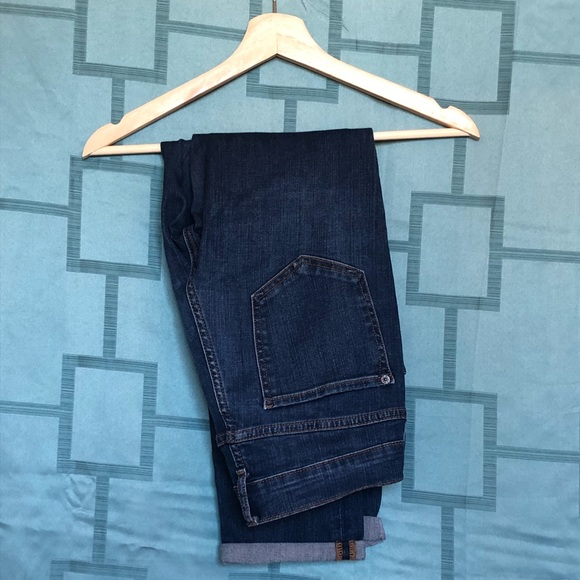 Old Navy Denim - Old Navy Straight Boyfriend Crop Pants